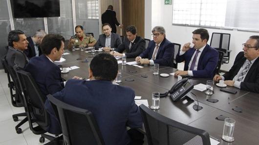 João Azevêdo_reunião_Secretaria Nacional de Aviação Civil