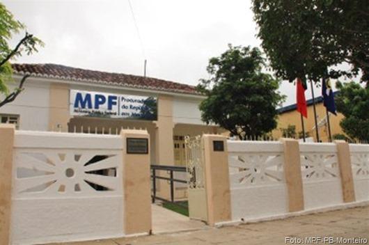 MPF em Monteiro-Foto Ascom