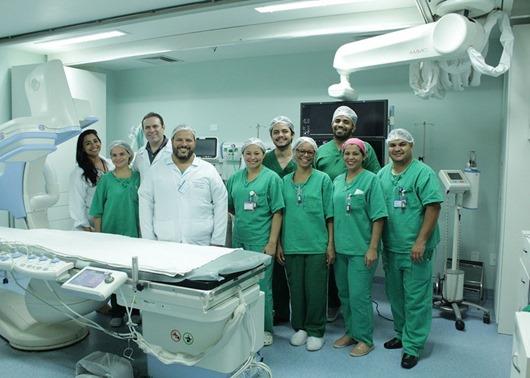 Metropolitano realiza procedimento inédito no tratamento de cardiopatia congênita