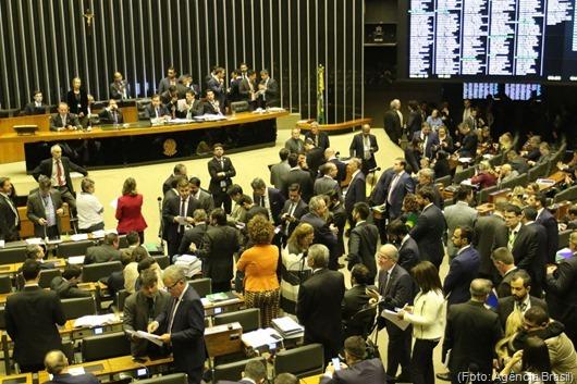 Plenário da Câmara dos Deputados-Agência Brasil