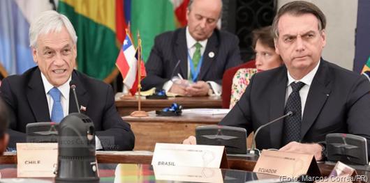 Sebastián Piñera_bolsonaro-Foto da Presidência da República do Brasil