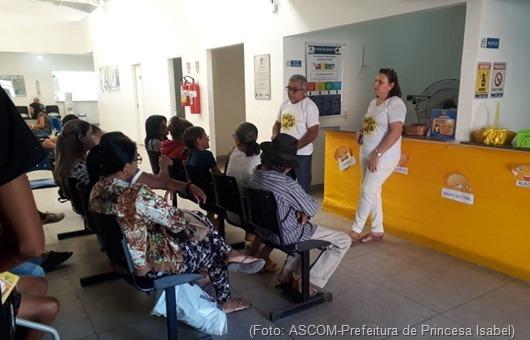 UBS do Maia-ação do Setembro Amarelo- Prefeitura de Princesa Isabel