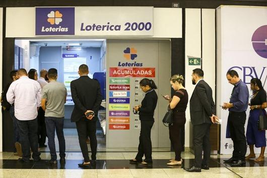 casa lotérica-Agência Brasil