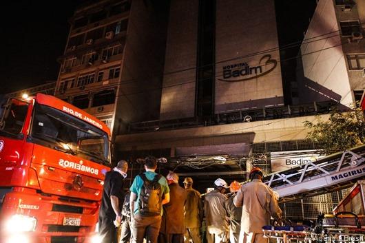 incêndio_Hospital Badim-Agência Brasil