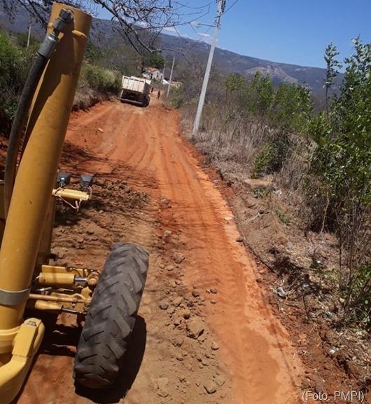 restauração_estradas vicinais-Prefeitura de Princesa Isabel