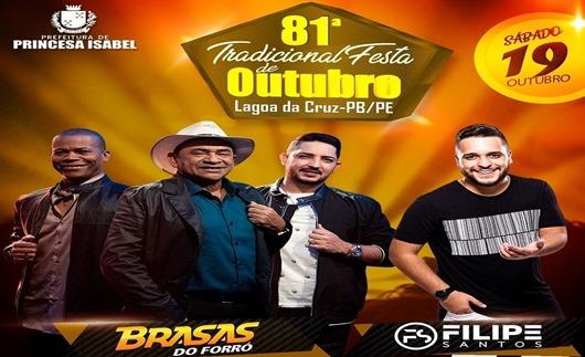 81ª Festa de Lagoa da Cruz-Prefeitura de Princesa Isabel
