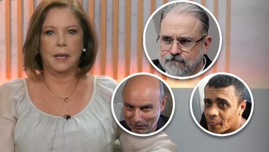 Aras faz o jogo de Bolsonaro, some com Queiroz e inventa Adélio