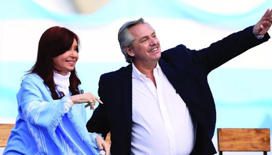 Cristina Kirchner_Alberto Fernandez
