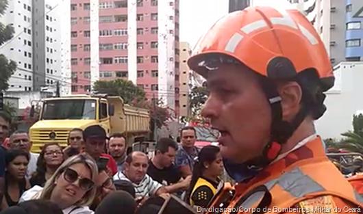 Divulgação Corpo de Bombeiros do Ceará