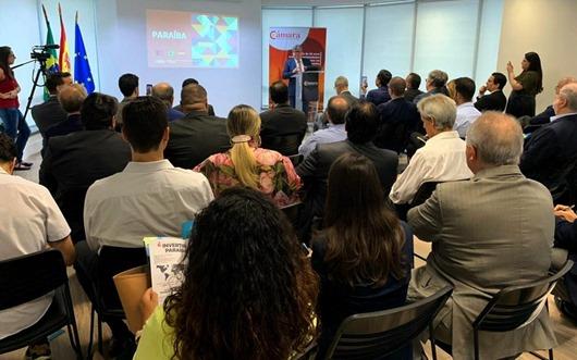 João Azevêdo apresenta em São Paulo potencial econômico da Paraíba a investidores europeus