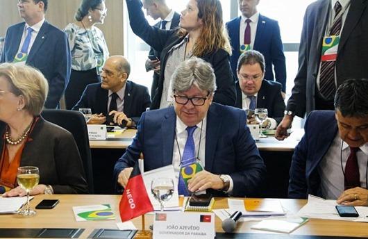 João Azevêdo_ VII Fórum Nacional de Governadores
