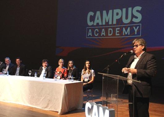João Azevêdo_abertura_Campus Academy