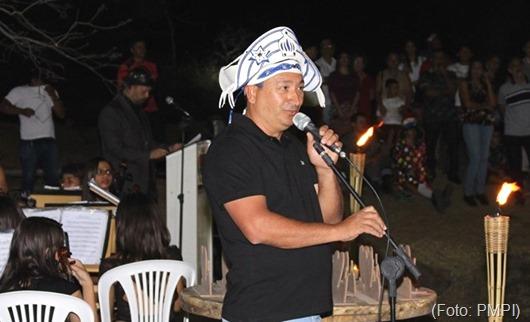 Lucinaldo Ventura_Diretor de Cultura da PMPI-Som nas Pedras