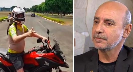 Tá com sua mãe, diz Bolsonaro ao ser indagado sobre paradeiro de Queiroz