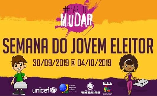 cartaz-Semana do Jovem Eleitor-Prefeitura de Princesa Isabel