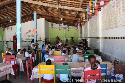 creches municipais-Semana da Criança-Prefeitura de Princesa Isabel