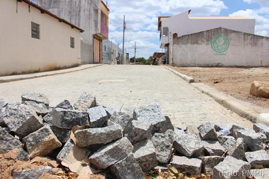 pavimentação urbana-Prefeitura de Princesa Isabel