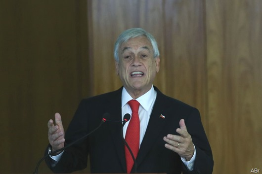 presidente Sebastián Piñera-Agência Brasil