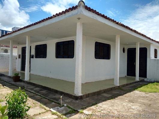 Casa de Apoio de Princesa Isabel em JP-Prefeitura de Princesa Isabel