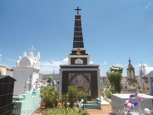 Cemitério Campo Santo de Princesa Isabel-Foto de Arquivo do Blog de José Duarte Lima