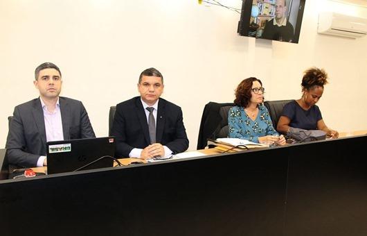 Na ALPB, Segurança expõe ações de enfrentamento aos feminicídios na Paraíba