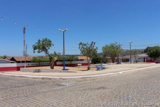 Praça Carolina Carlos Diniz-Prefeitura de Princesa Isabel