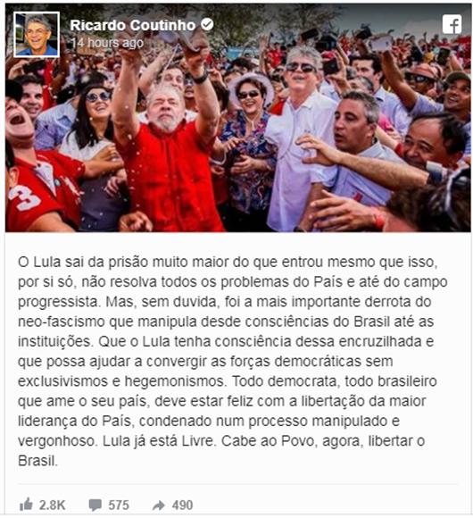 Ricardo Coutinho_Lula