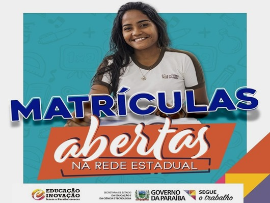 matrículas-rede estadual