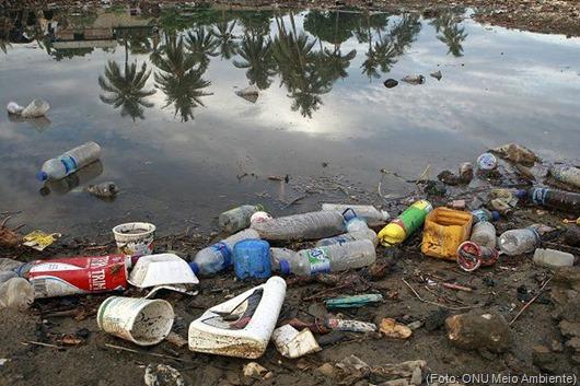 plásticos_Foto da ONU Meio Ambiente