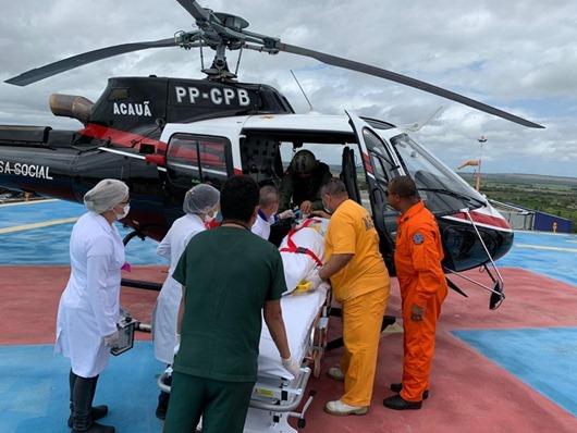 Hospital Metropolitano_pouso aeromédico