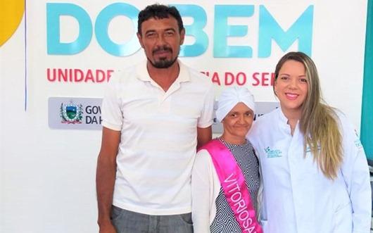 Marineide de Sousa Lima_diagnóstico de cura de câncer_Hospital do Bem