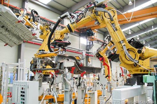 robôs industriais-Governo do Espírito Santo-Divulgação