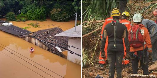 8 pessoas morreram em Minas por conta dos temporais