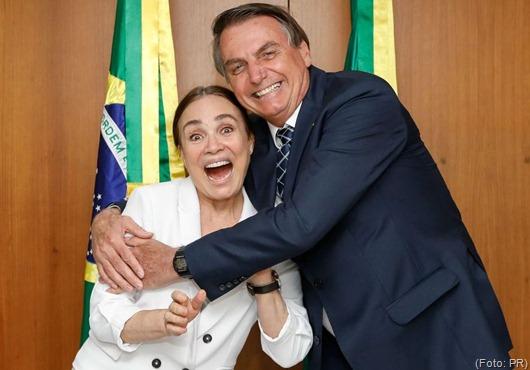 (Brasília - DF, 22/01/2020) Encontro com Regina Duarte Foto: Carolina Antunes/PR/
