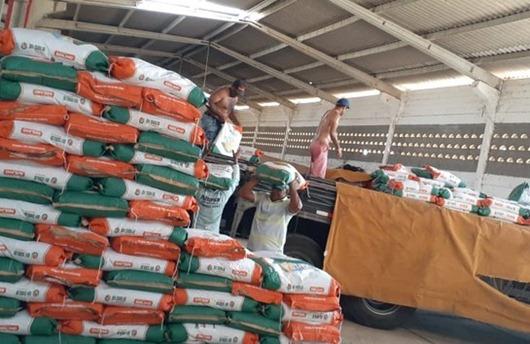Governo da Paraíba_distribuição de sementes