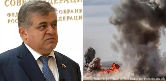 """""""Se Estados Unidos revidarem, pode haver guerra nuclear"""", diz senador russo"""