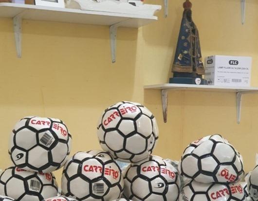 Reeducandos_confecção de bolas de futebol_ Catolé do Rocha