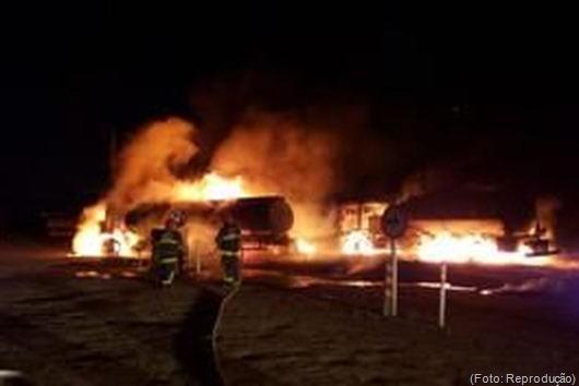incêndio_caminhão de combustível