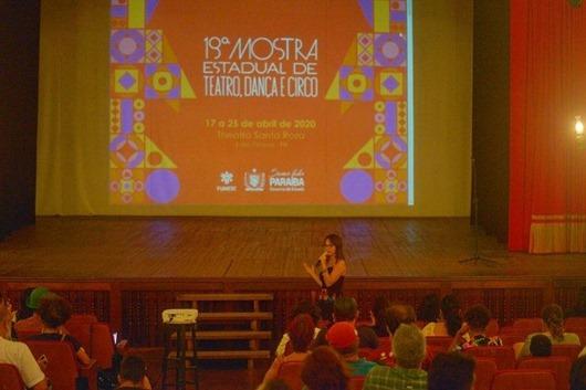 lançamento_19ª Mostra Estadual de Teatro, Dança e Circo
