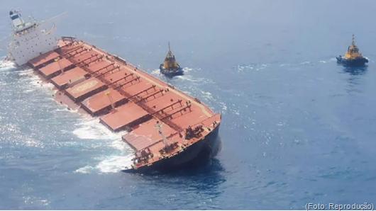 navio graneleiro MV Stellar Banner_Vale