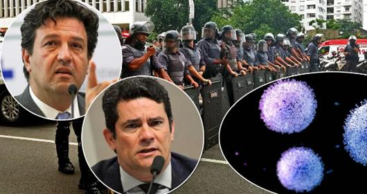 Após Bolsonaro descumprir recomendação médica, portaria passa a punir com prisão quem não seguir quarentena