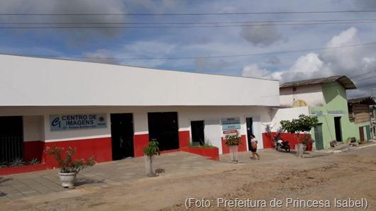 Centro de Imagem-Prefeitura de Princesa Isabel