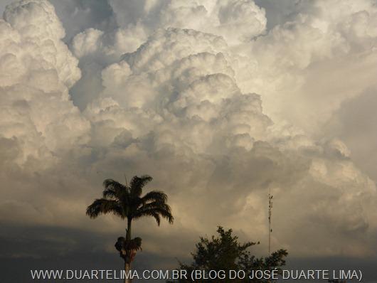 Chuva na Serra do Teixeira