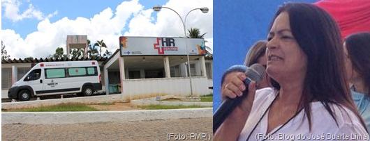 HRPI implantou serviço de triagem para pacientes com sintomas da Covid-19 na sexta-feira passada, diz secretária Nininha Lucena