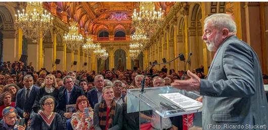 LULA-Cidadão Honorário de Paris