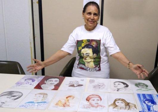 Museu José Lins do Rêgo_exposição 12 mulheres brasileiras que fizeram história