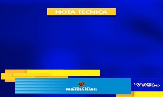 Nota Técnica-Prefeitura de Princesa Isabel