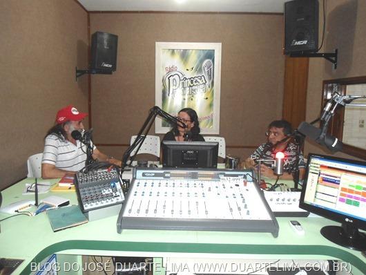 Paulo Mariano, Nayana Cordeiro e José Duarte Lima