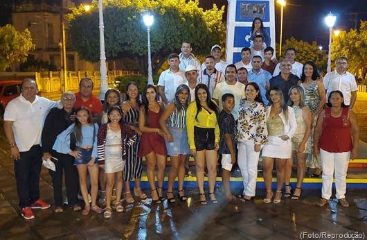 Ricardo Pereira, familiares e amigos