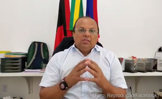 Ricardo Pereira_anúncio_pagamento de aposentados e professores